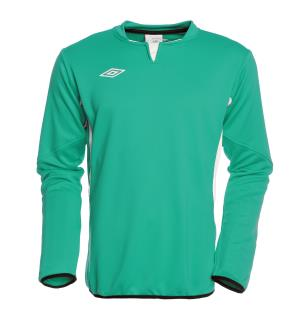 UMBRO Vision Tr Sweat jr Grønn/Hvit 164 Teknisk treningsgenser for barn